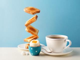 コーヒーは朝食の後に