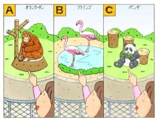 【心理テスト】動物園でいちばん最初に見つけたのは、なんの動物?