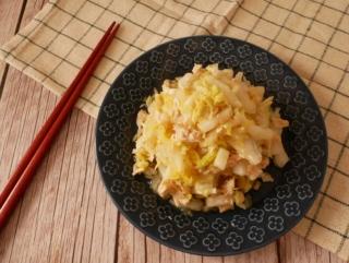 旬の白菜で和風の副菜作り置き♪「鶏ささみと白菜の柚子こしょう和え」#今日の作り置き