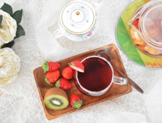 フルーツたっぷりの紅茶でビタミン&うるおい補給♡美容に最強のホットフルーツティーレシピ