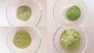 緑の粉の画像