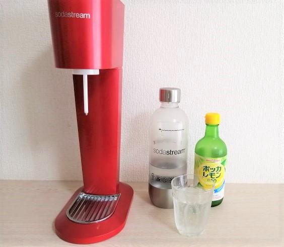 炭酸水メーカー画像