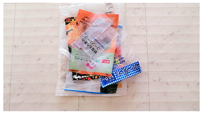 ビニール袋画像