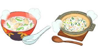 野菜入りおかゆレシピ!食欲のない朝にぴったりな簡単&本格2選