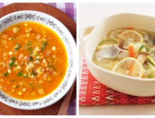 腸を整えて、心は前向きに。1~2人前の、滋養豊かなスープ&鍋レシピ5選