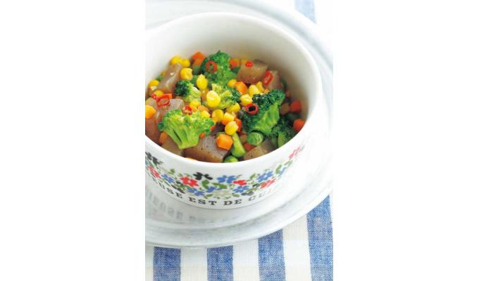 野菜炒め画像