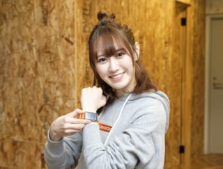 消費カロリーはチキン約3.3個分!? スマートウォッチ「HUAWEI WATCH FIT」をNGT48西潟茉莉奈さんが使ってみた!