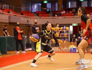 新天地を求めてスタートした3x3プレイヤー花田遥歌選手の挑戦 #アス女飯