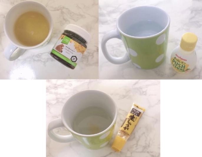 アレンジ 白湯