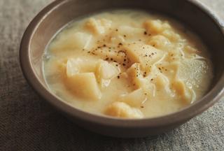 かぶとカリフラワーのスープ