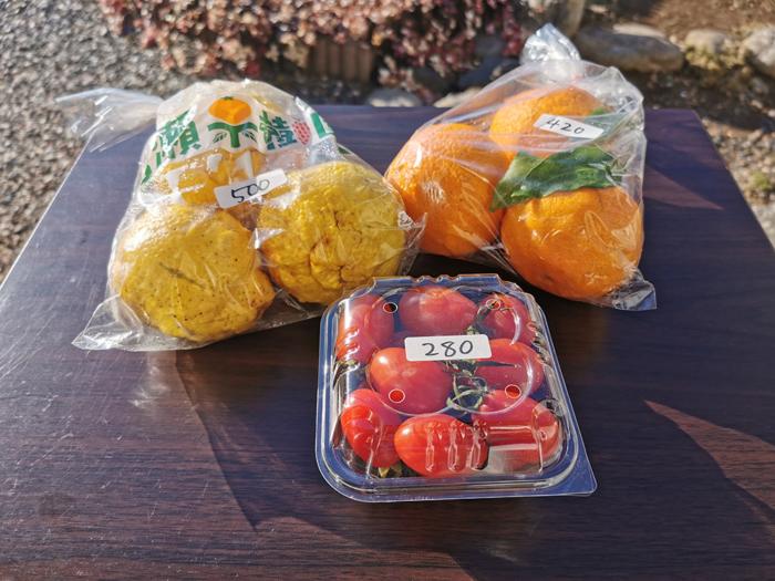 果物と野菜の写真