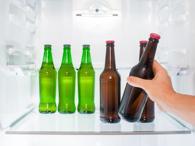 冷蔵庫の酒類