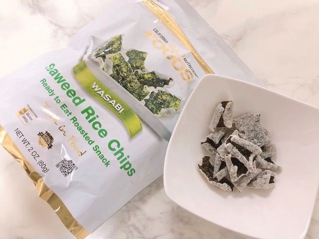 Seaweed Rice Chipsの中身