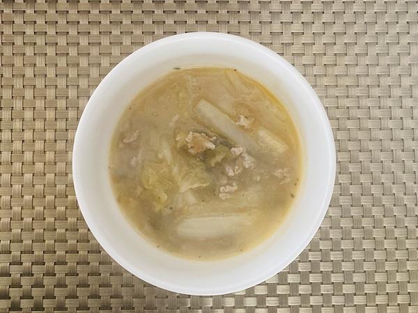 ソフリートを使ったスープ