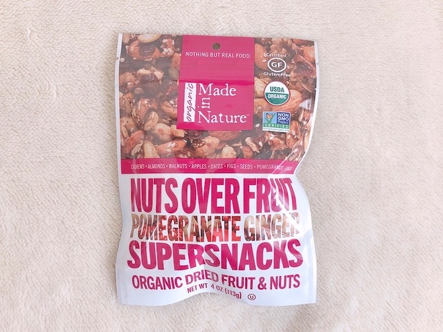 NUTS OVER FRUIT SUPERSNACS