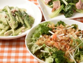 サニーレタスやロメインレタスなど、余った葉物の使い切りレシピ