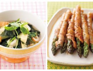 たけのこ、菜の花、アスパラガス。芽吹きのパワーを体にチャージできる春野菜レシピ5選