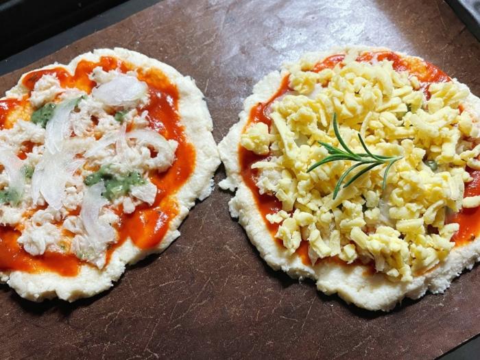 チーズだけどチーズじゃない!? 豆腐でできたシュレッドを使った「ピザ風」その味は? #Omezaトーク
