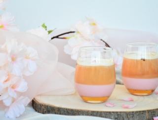 春を感じて♡おうちでお花見気分が楽しめる「さくらアレンジティー」2種