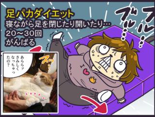 かわいいけど困る! 愛猫がダイエットを邪魔してきます… #チャンドゥのファンキーな日常