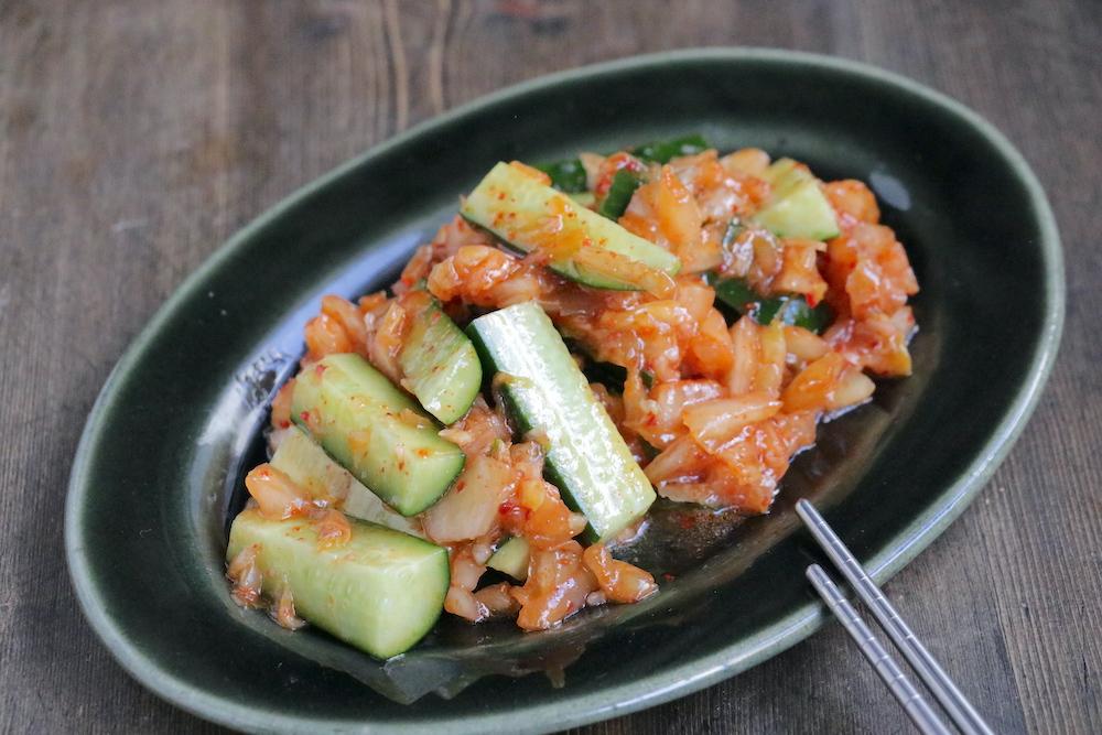 オイキムチ風きゅうりサラダ