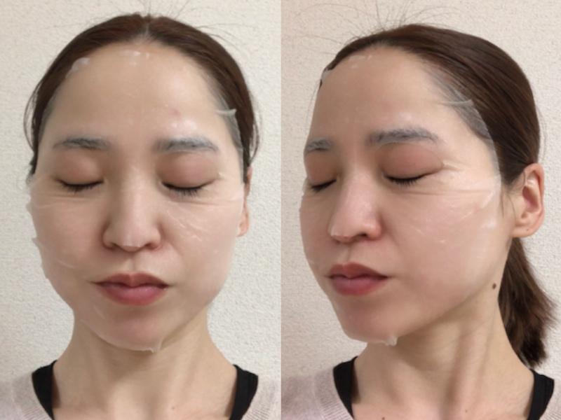 VT シカ ニュートリーションマスクを顔につけた画像