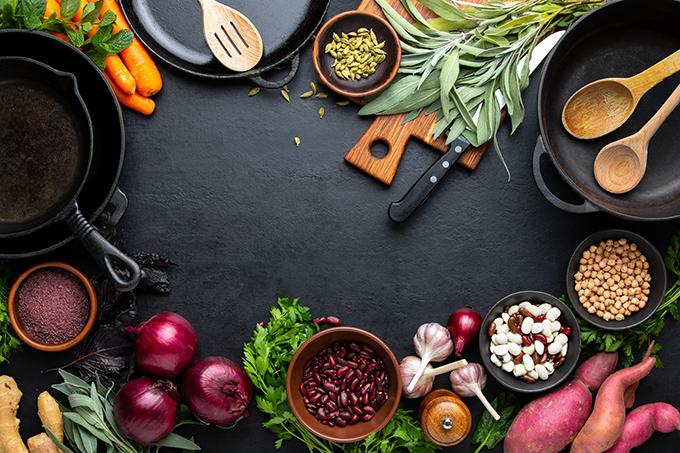 調理器具や食材