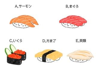 【ダイエットチョイス!】サーモン、いくら、貝、まぐろ。ダイエッター向き回転ずしのネタの選び方!~EICO式ダイエットのコツ(50)~