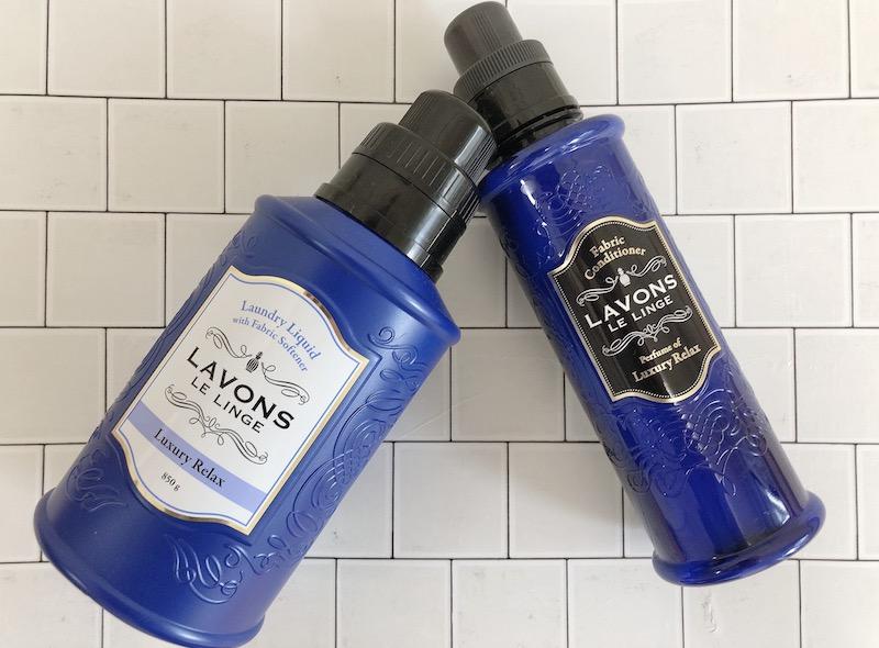 ラボン 柔軟剤入り洗剤と柔軟剤