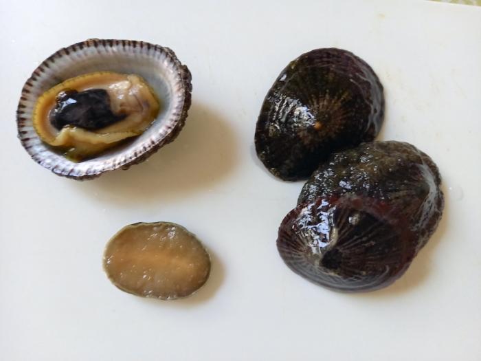 松葉貝の下処置