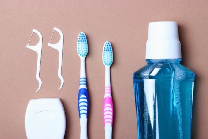 歯ブラシ、糸ようじなど画像