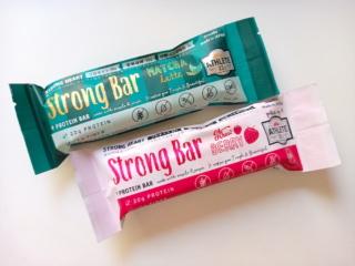 Strong Bar抹茶といちご味