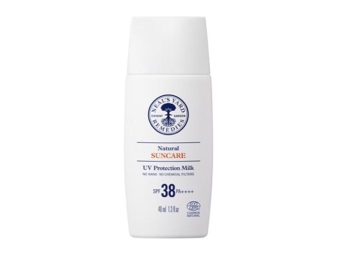 ナチュラル UV プロテクション ミルク SPF38