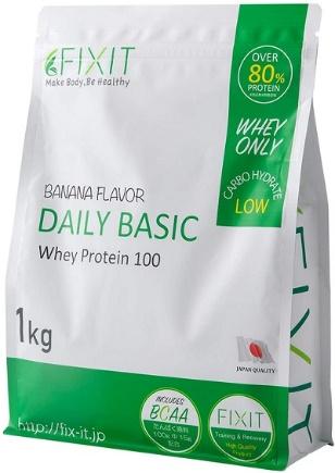 FIXIT DAILY BASIC ホエイプロテイン バニラ味