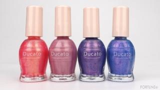 〈Ducato〉2021夏新色『デュカート ナチュラルネイルカラー N』バカンス気分を味わえる限定4色を比較!