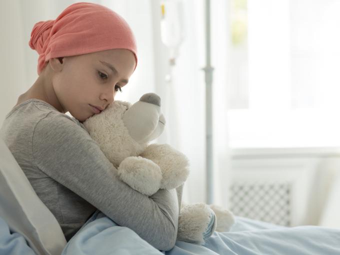 入院中の子ども