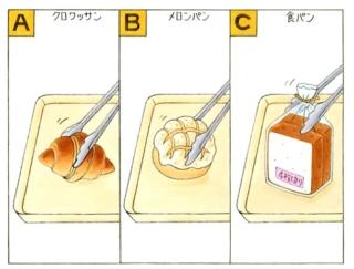 【心理テスト】近所のパン屋でパンをひとつ買います。あなたが選んだのは?