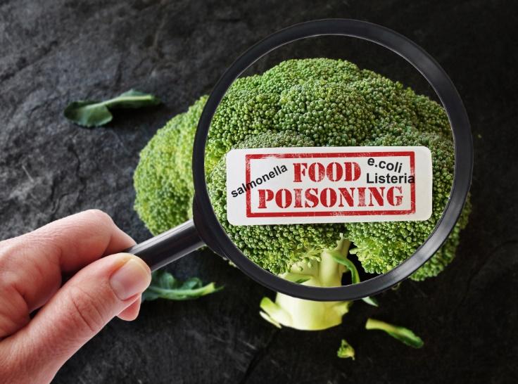 食中毒を表す画像