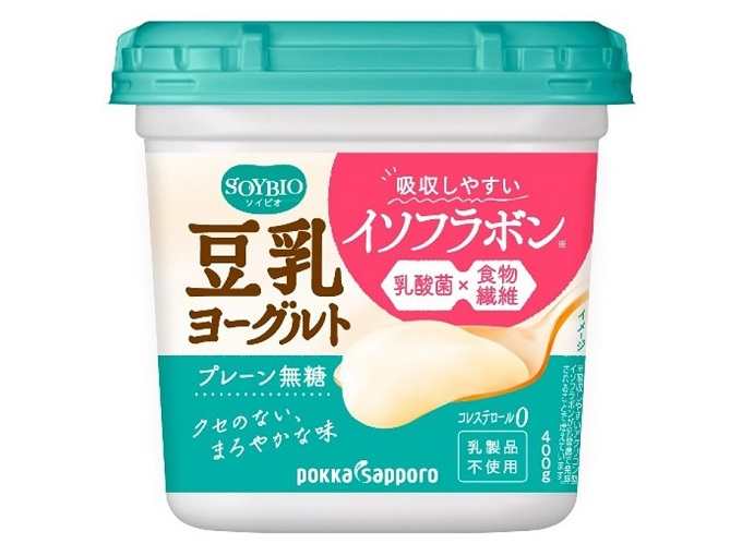 SOYBIO 豆乳ヨーグルト プレーン無糖画像