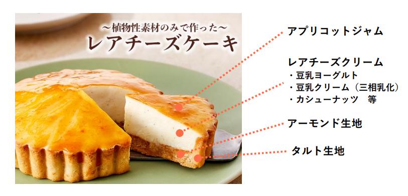 レアチーズケーキ画像