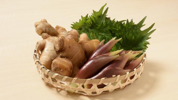[薬味野菜の保存]ショウガやしそ、みょうがの長期保存のコツ