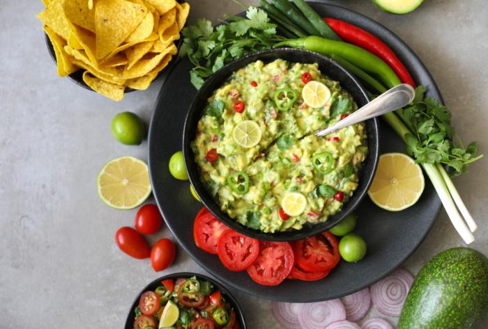 メキシコ料理のワカモレ
