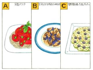 【心理テスト】夏野菜を使って料理をします。あなたが作りたいのは?