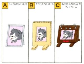 【心理テスト】ペットの写真を飾ります。あなたが選ぶフォトフレームは次のうちどれ?