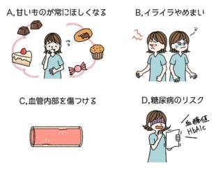 【ダイエットチョイス!】「血糖値が急に上がる」はなぜ悪い?~EICO式ダイエットのコツ(79)~
