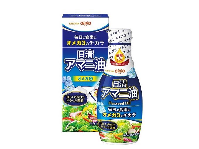 日清アマニ油 フレッシュキープボトル画像