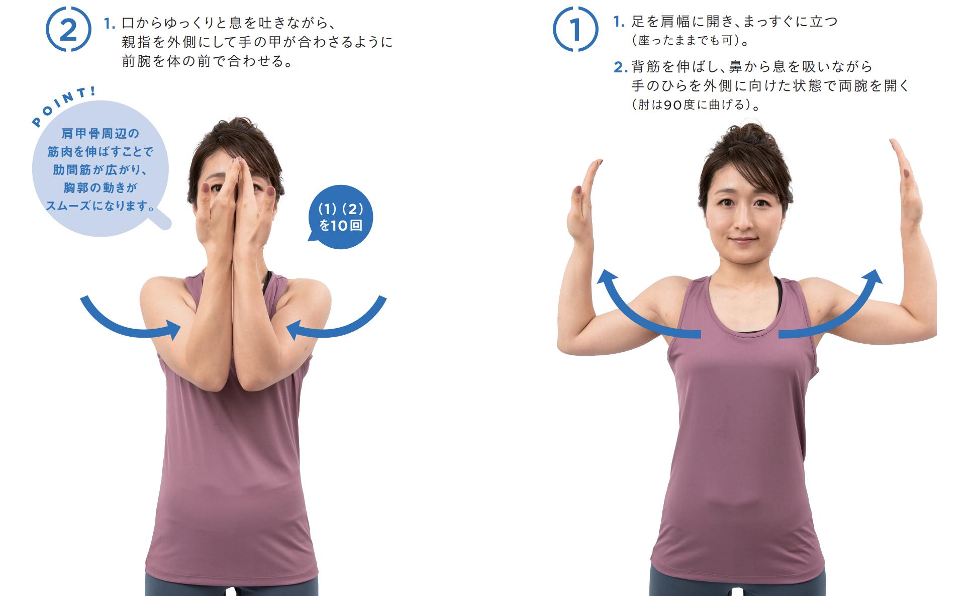 肩甲骨のトレーニングのやり方