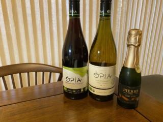 3本のノンアルコールワイン