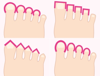 自分の性格をもっと深く知りたい…! 足の指の形や向きでわかる性格診断の方法