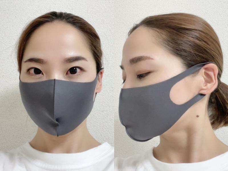 洗える布マスク スマピタをつけた寒川さん